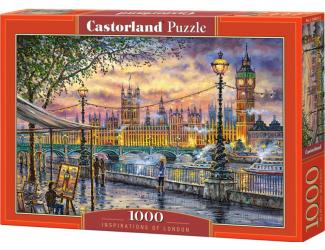 Puzzle 1000 dílků - Londýnské inspirace