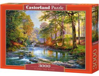 Puzzle Castorland 3000 dílků - Podél řeky