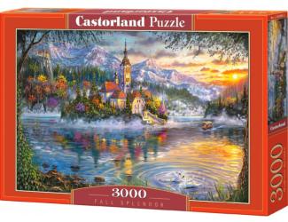 Castorland puzzle 3000 dílků - Podzimní nádhera