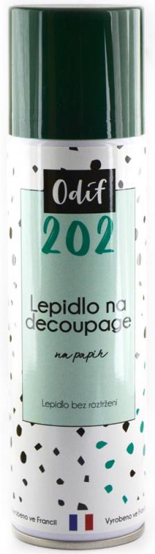 Odif Lepidlo 202 - lak na decoupage ve spreji, 250 ml