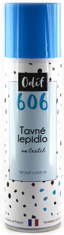Odif Lepidlo 606 - na textil ve spreji, 250 ml