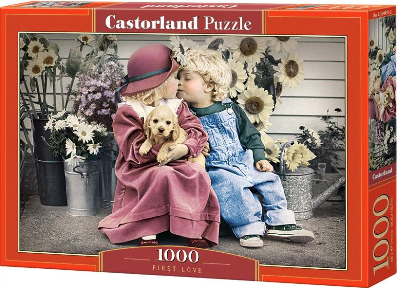 Puzzle Castorland 1000 dílků - První láska