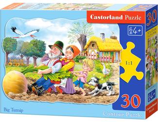 Puzzle Castorland 30 dílků - O veliké řepě