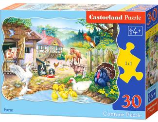 Puzzle Castorland 30 dílků - Farma
