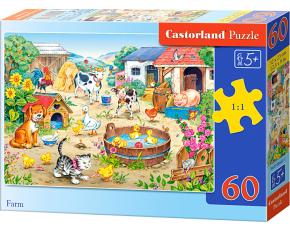 Puzzle Castorland 60 dílků - Farma