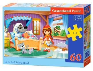 Puzzle Castorland 60 dílků - Červená karkulka