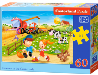 Puzzle Castorland 60 dílků - Léto na venkově