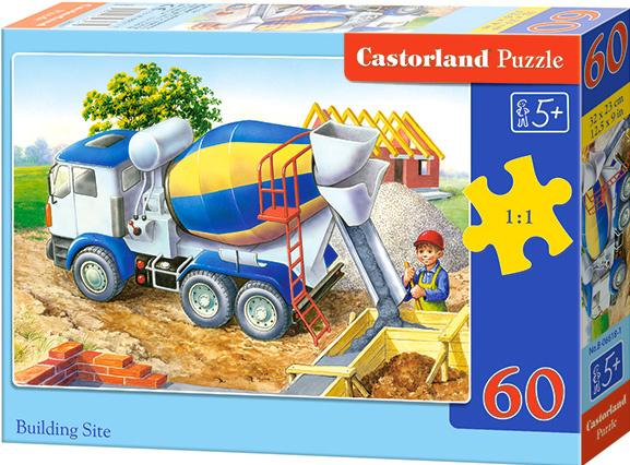 Puzzle Castorland 60 dílků - Míchačka