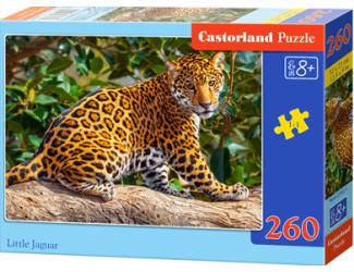 Puzzle 260 dílků- Malý jaguár