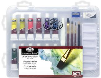 ROYAL and LANGNICKEL Akvarelové barvy v plastovém boxu