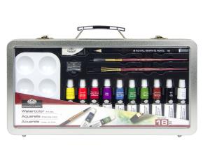 ROYAL and LANGNICKEL Akvarelový set v plechovém kufříku