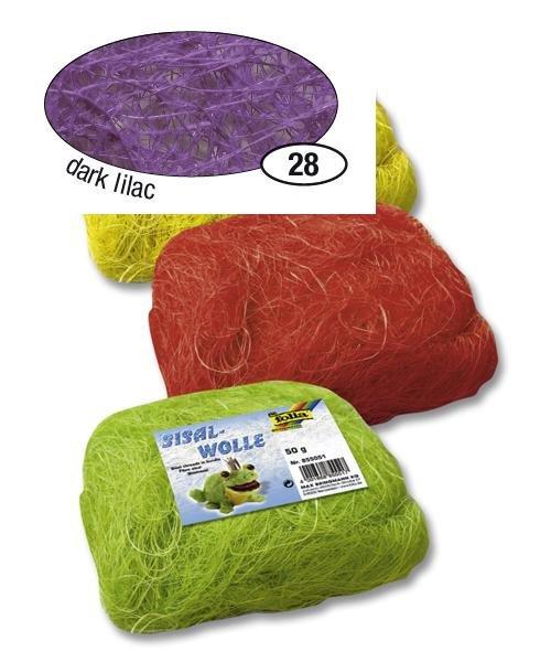 Fialové sisalové vlákno 50 g