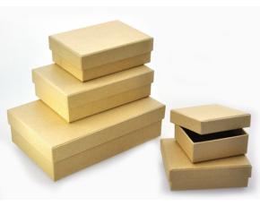 Papírové krabičky, 5 ks,  7-17 cm