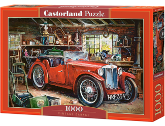 Puzzle Castorland 1000 dílků - Veterán v garáži