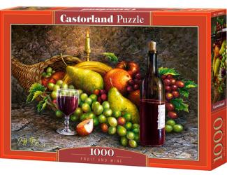 Puzzle Castorland 1000 dílků - Ovoce a víno