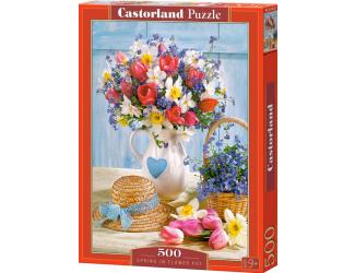 Puzzle Castorland 500 dílků - Jaro ve váze