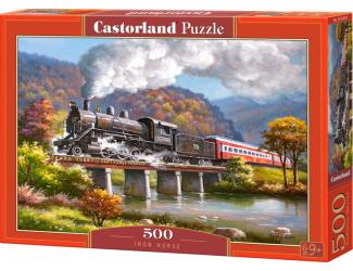 Puzzle Castorland 500 dílků - Železný kůň