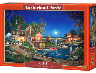 Puzzle Castorland 500 dílků - Vzpomínky na podzim