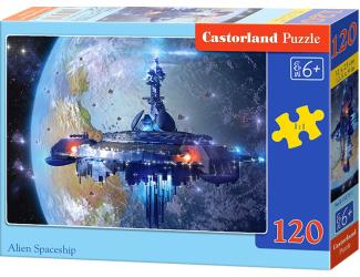 Puzzle Castorland 120 dílků - Vesmírná loď