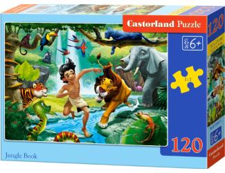 Puzzle Castorland 120 dílků - Kniha Džunglí
