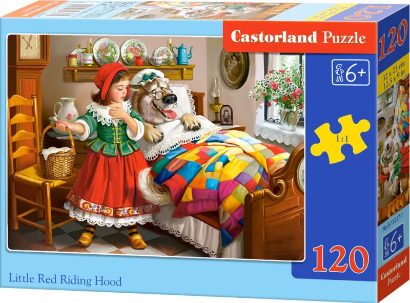 Puzzle Castorland 120 dílků - Červená karkulka
