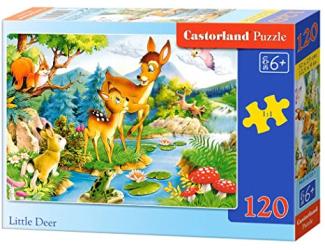 Puzzle Castorland 120 dílků - Koloušci