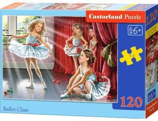 Puzzle Castorland 120 dílků - Hodina baletu