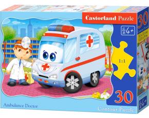 Puzzle Castorland 30 dílků - Sanitka