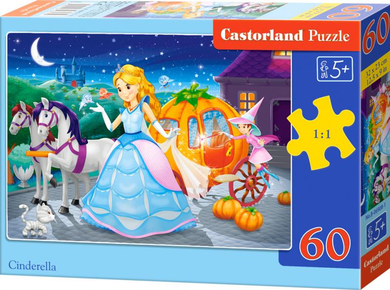 Puzzle Castorland 60 dílků - Popelka