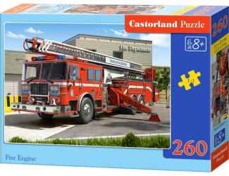 Puzzle Castorland 260 dílků - Hasičské auto