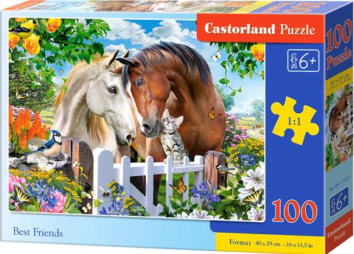 Puzzle Castorland 100 dílků premium - Nejlepší přátelé
