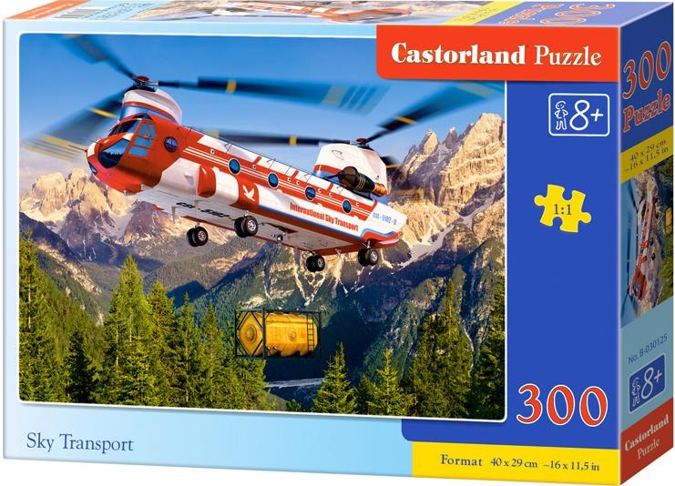 Puzzle 300 dílků- Sky transport