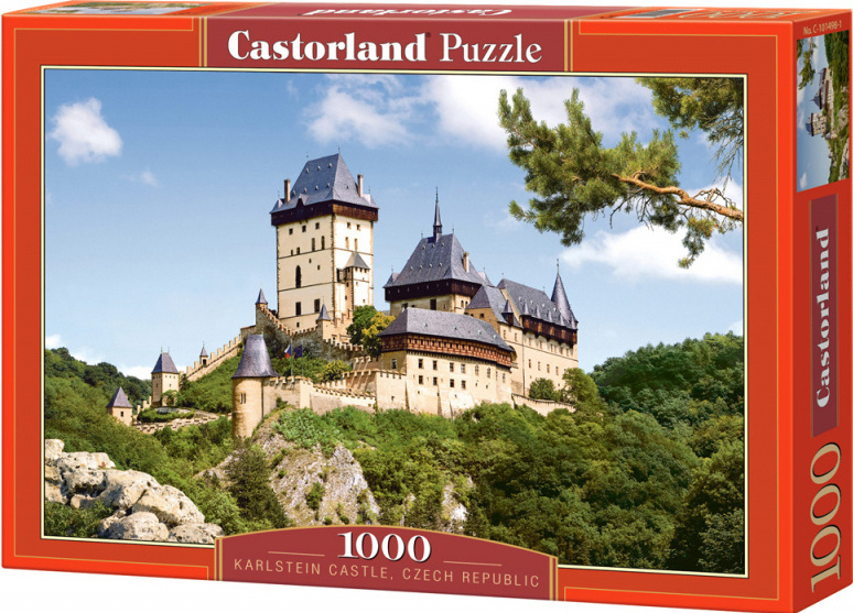 Puzzle Castorland 1000 dílků - Karlštejn