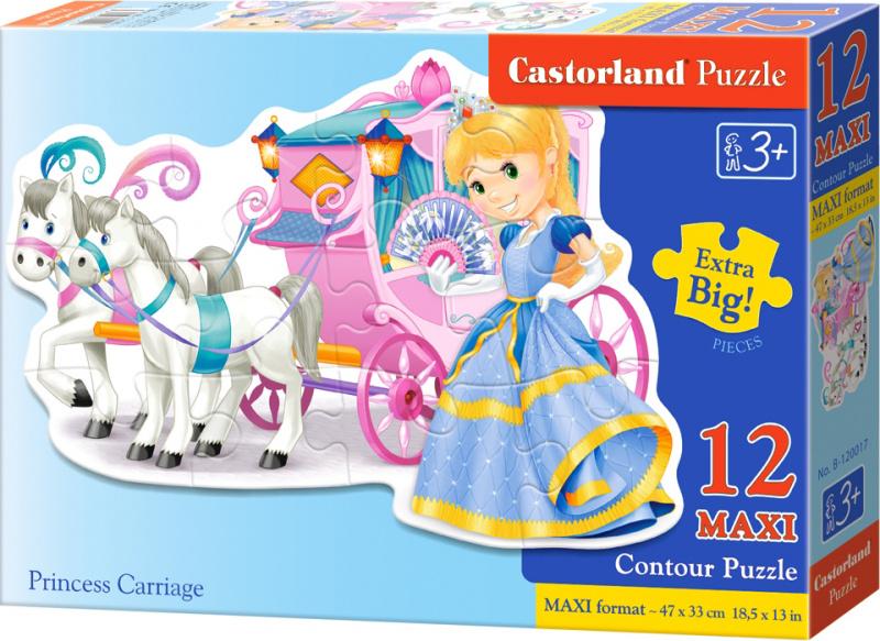 Puzzle Castorland Contour MAXI 12 dílků - Popelka