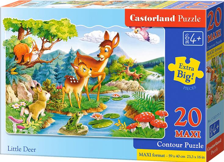 Puzzle Castorland MAXI 20 dílků - Koloušek
