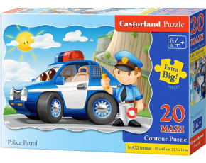 Puzzle Castorland MAXI 20 dílků - Policie