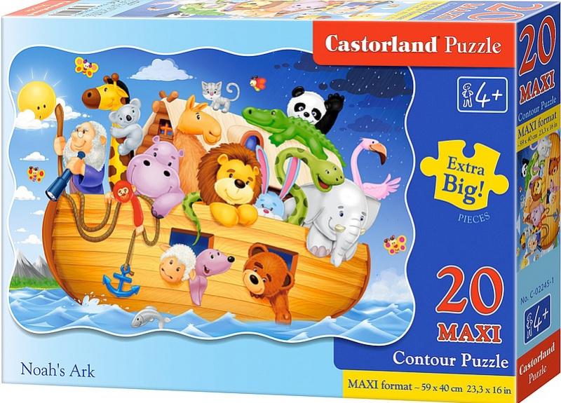 Puzzle Castorland MAXI 20 dílků - Noemova archa