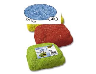 Modré světlé sisalové vlákno 50 g