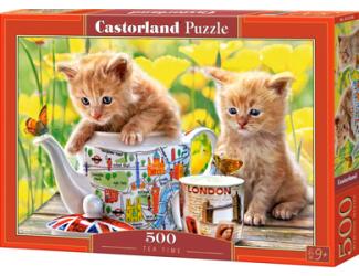 Puzzle Castorland 500 dílků - Čas na čaj