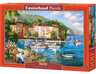 Puzzle Castorland 500 dílků - Přístav lásky