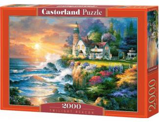 Puzzle Castorland 2000 dílků - Maják za soumraku