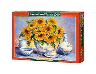Puzzle Castorland 2000 dílků - Slunečnice