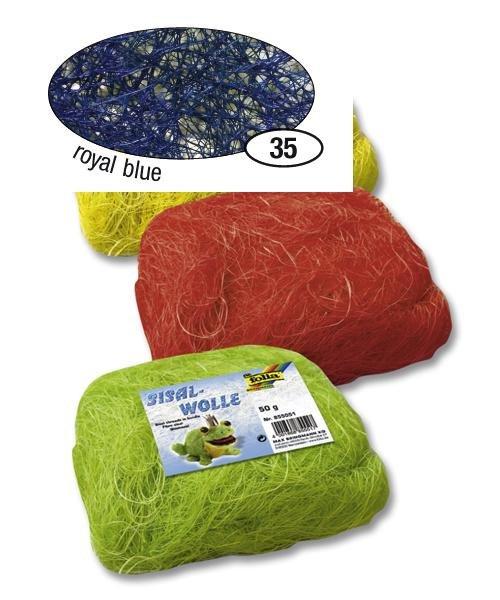 Modré sisalové vlákno 50 g