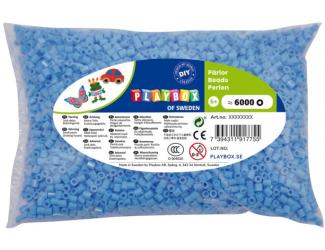 Zažehlovací korálky - 6 000 ks - sv. modré