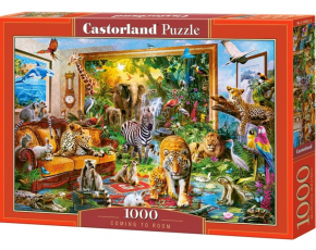 Puzzle Castorland 1000 dílků - Džungle v pokoji