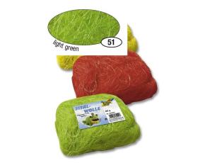 Zelené světlé sisalové vlákno 50 g