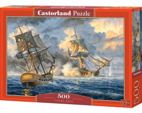 Puzzle Castorland 500 dílků - Námořní bitva