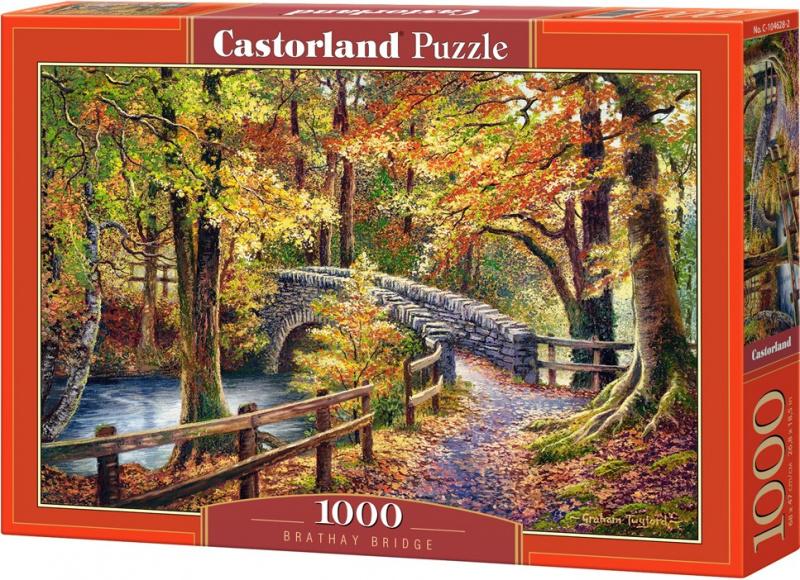 Puzzle Castorland 1000 dílků - Most v městě Brathay