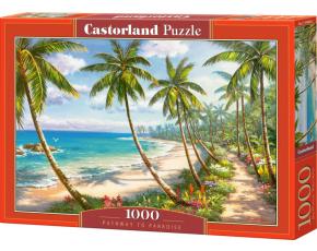 Puzzle Castorland 1000 dílků - Cesta rájem