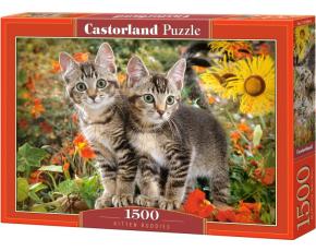 Puzzle Castorland 1500 dílků - Kočičí kamarádi